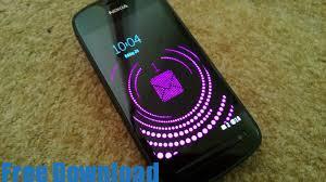 تحميل برنامج الشاشة المؤقتة من نوكيا بأشكال جميلة Nokia Sleeping Screen