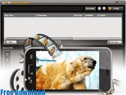 تحميل برنامج تعديل و تحويل صيغ الفيديو 2015 مجانا GOM Video Converter